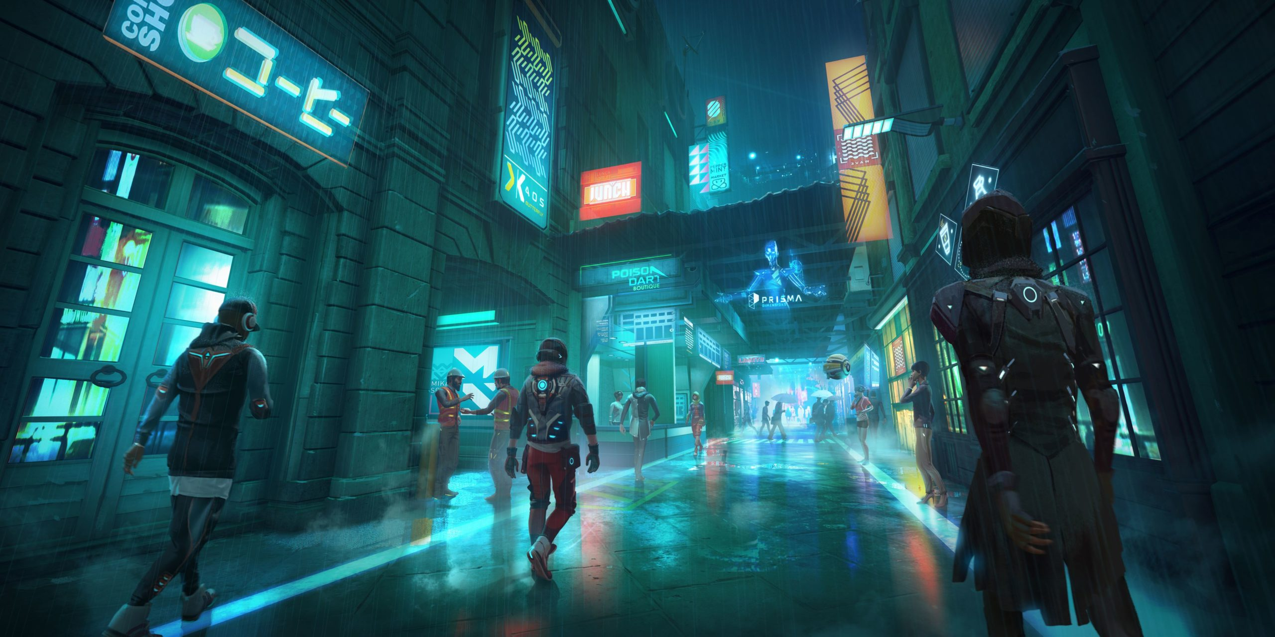 アサクリとシージのubisoftが新作の近未来バトルロワイヤル「ハイパースケープ」を7月2に正式発表か!!コンソール、PCで無料ゲー。