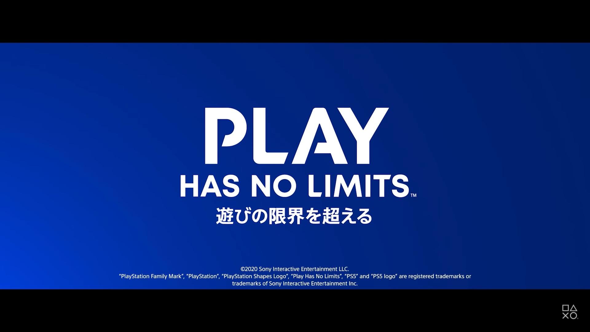 PS5のキャッチコピーは「遊びの限界を超える」